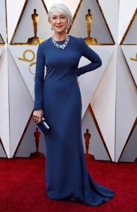 Vestidos do Oscar - Helen Mirren